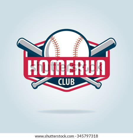 Baseball badge,sport logo,team identity,vector illustration
