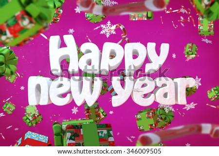 New year postcard #346009505