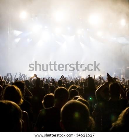 Crowd at concert #34621627