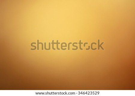 Gradient gold abstract background