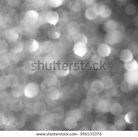 Christmas Background. Golden Holiday Abstract Glitter Defocused Background With Blinking Stars. Blurred Bokeh #346531076