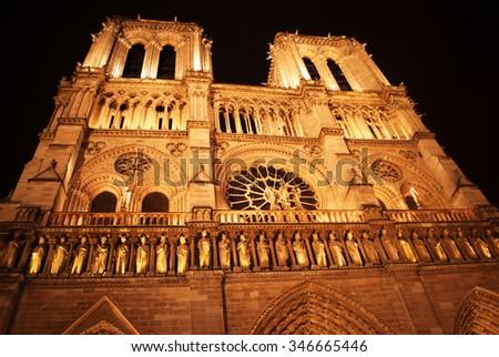 Notre Dame de Paris #346665446