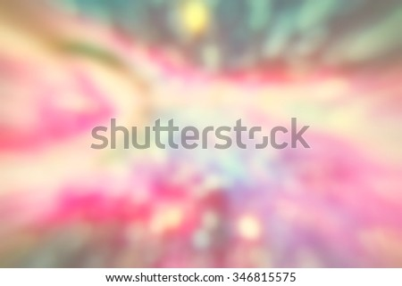 Soft light, colorful background, romantic abstract #346815575