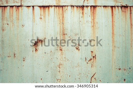 Rusty metal texture background.  Royalty-Free Stock Photo #346905314