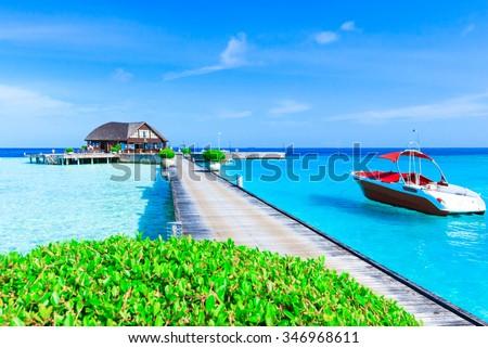 beach in Maldives #346968611