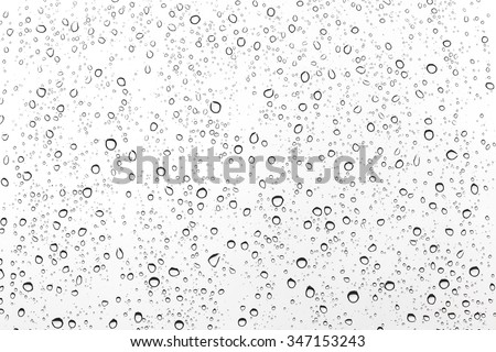 drops of water Royalty-Free Stock Photo #347153243