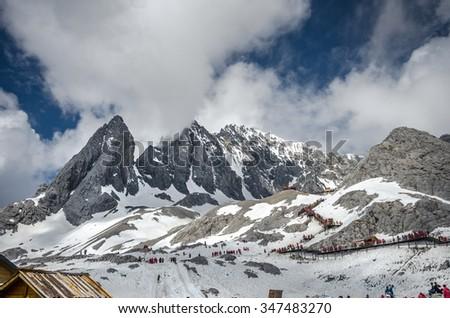 Jade Dragon Snow Mountain  #347483270