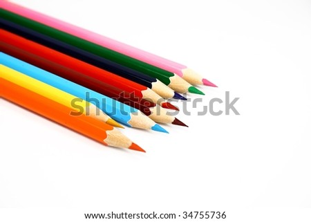 Isolated color pencil #34755736