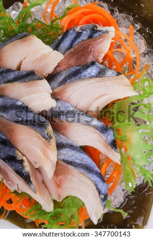 sashimi herring, herring,  macro shallow depth of field #347700143