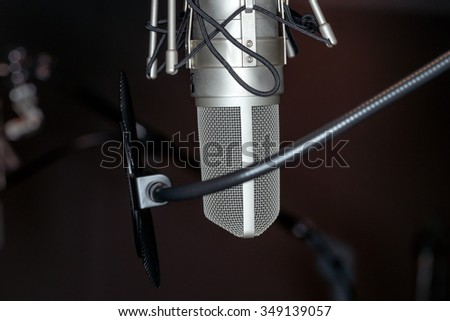 Studio microphone #349139057
