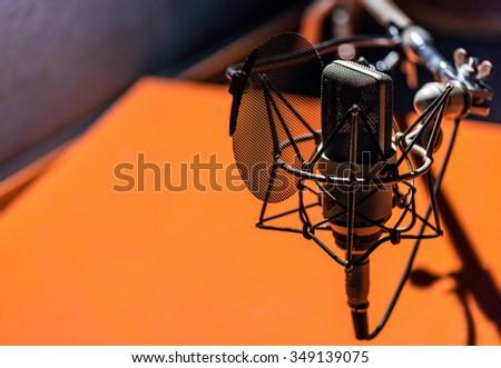 Studio microphone #349139075