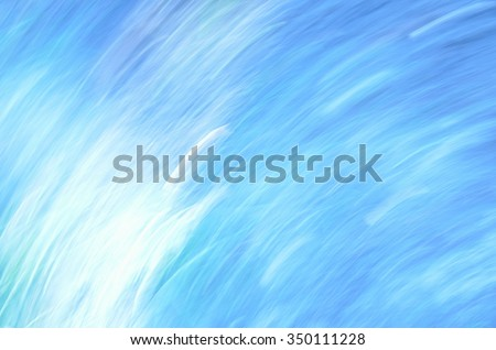 Abstract Painted Background, this picture by centrifugal force out of focus, blue #350111228
