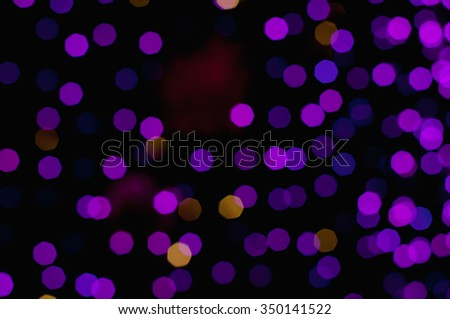Abstract colorful bokeh background.(Blur focus.) #350141522
