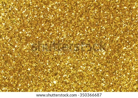 Background filled with shiny gold glitter. Royalty-Free Stock Photo #350366687