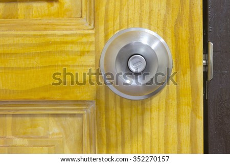 Door knob #352270157