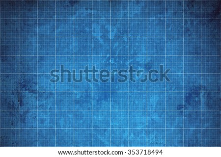 old blueprint background texture. Royalty-Free Stock Photo #353718494