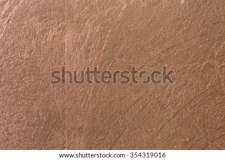 Copper alloy texture close up, made from gold silver and copper bronze #354319016