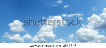 Beautiful summer clouds background #3543347