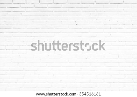 old white brick wall texture for background #354516161