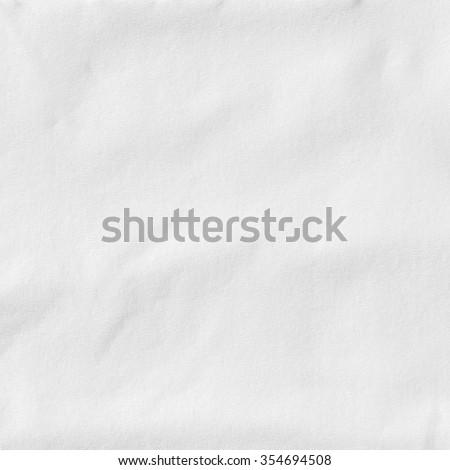 Texture of white tissue paper #354694508
