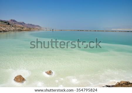 The Dead Sea in Israel #354795824