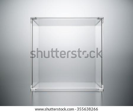 acrylic box abstract. #355638266