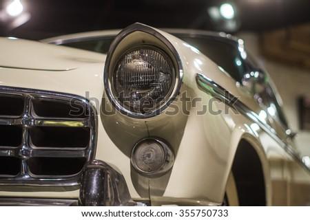 CHARLOTTE - OCTOBER 18: NASCAR Hall of Fame - legendary race car, North Carolina OCTOBER 18, 2015 #355750733