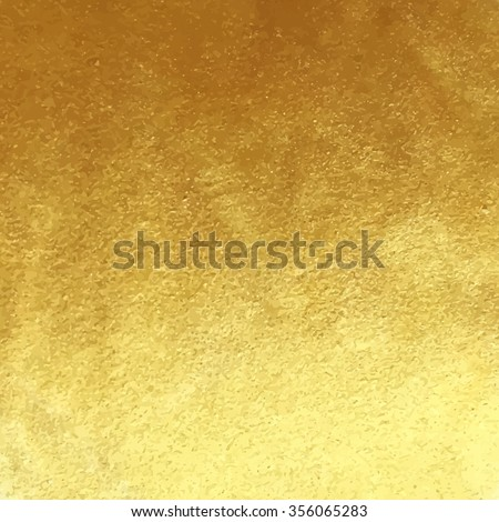 Vector golden foil background template for cards, hand drawn backdrop - invitations, posters, cards. #356065283