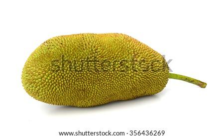 Thai Jack fruit on white background #356436269