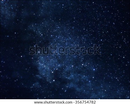 Illustration of deep space rich in stars