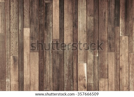 old wood plank wall background Royalty-Free Stock Photo #357666509