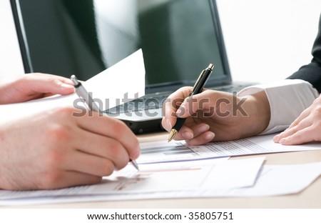 Working hands #35805751