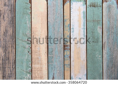 Old color wood texture and background #358064720