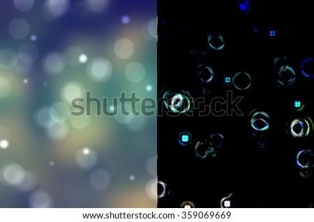 Bokeh light, shimmering blur spot lights on vintage abstract background. #359069669