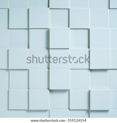 stack of blue tiles #359124554