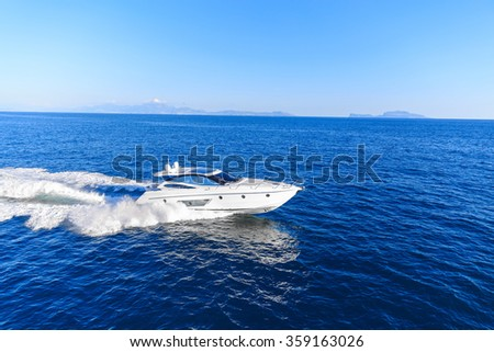 luxury motoryacht in  navigation #359163026