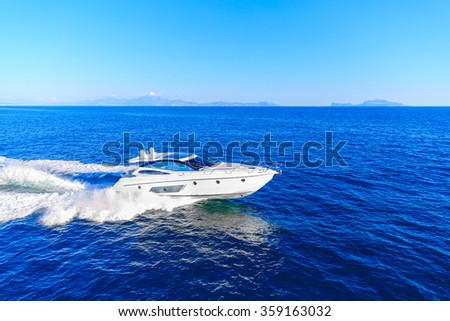 luxury motoryacht in  navigation #359163032