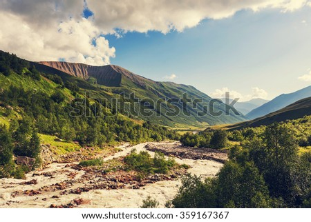 Caucasus mountains #359167367