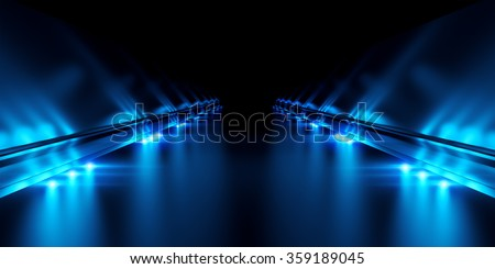 Abstract black background with illumination #359189045