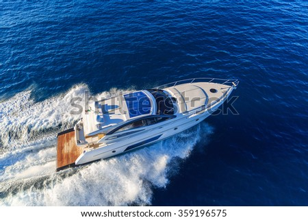 luxury motoryacht in  navigation #359196575