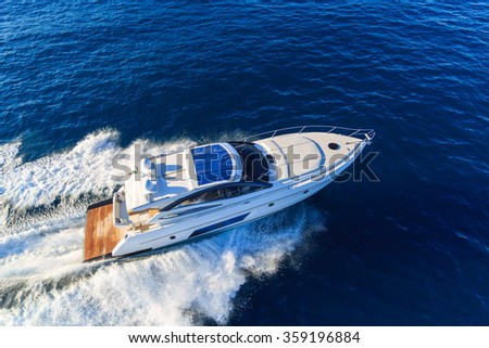 luxury motoryacht in  navigation #359196884