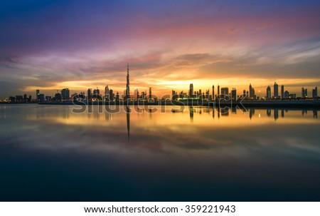 Skyline Dubai Royalty-Free Stock Photo #359221943