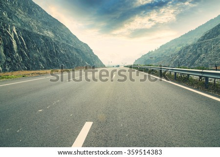 Winding road Background #359514383