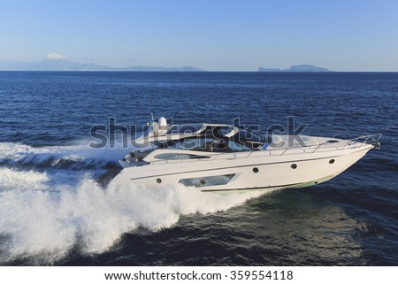 luxury motoryacht in  navigation #359554118