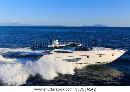 luxury motoryacht in  navigation #359554142