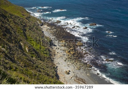 This is an image of part of California's Big Sur. #35967289