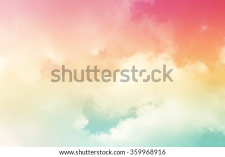 Colorful sky.sky abstract background