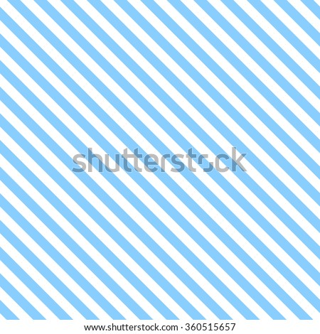 Abstract Seamless diagonal striped pattern with blue and white stripes. Vector illustration
