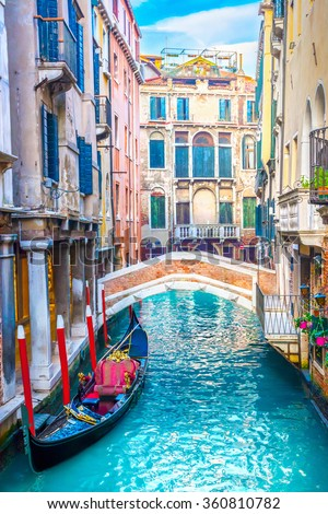 Canal in Venice #360810782