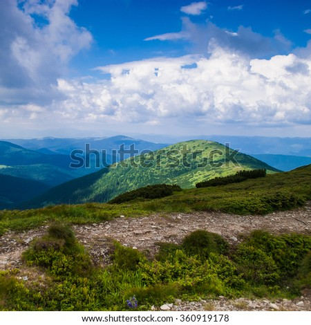 Beautiful mountain landscape #360919178
